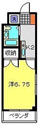 神奈川県川崎市中原区上小田中5丁目の賃貸マンションの間取り