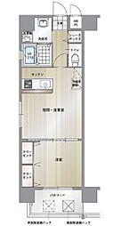 エンクレスト博多駅南II[2階]の間取り