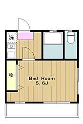 KHマンション[302号室]の間取り
