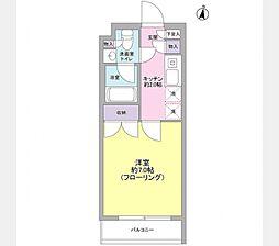 Crescente・J[203号室]の間取り
