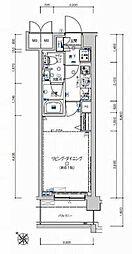 フェルクルールプレスト豊田[2階]の間取り