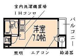 シャルマン文京千駄木[4階]の間取り