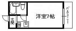 グローバルハイツ鶴橋 仲介手数料10800円 専用消毒も不要[2階]の間取り