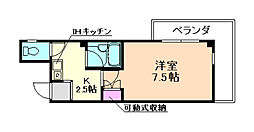 SINCE 91 HOUSE[201号室]の間取り