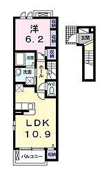 ボナールTN[2階]の間取り