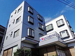 神奈川県横浜市港北区箕輪町1丁目の賃貸マンションの外観