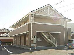 愛知県岡崎市六名新町の賃貸アパートの外観