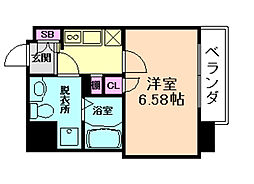 Grandi Utsubo Park[12階]の間取り