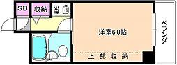 Mプラザ津田駅前壱番館[5階]の間取り
