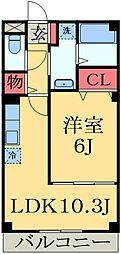 千葉県千葉市緑区鎌取町の賃貸マンションの間取り