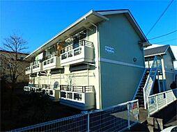 ベルフォーレB[2階]の外観