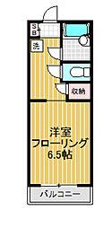 東京都世田谷区南烏山3丁目の賃貸アパートの間取り