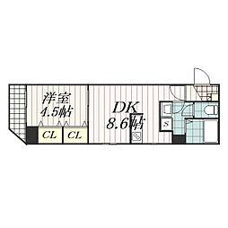 Arcenciel稲毛(アルカンシエル稲毛)[4階]の間取り