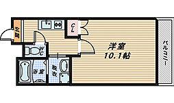 大阪府和泉市唐国町4丁目の賃貸マンションの間取り