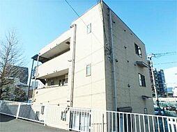 東京都多摩市関戸4丁目の賃貸アパートの外観