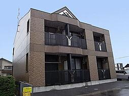 新潟県新潟市東区新松崎2丁目の賃貸アパートの外観