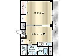 大栄マンション[4階]の間取り