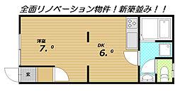 ジョイフル大塚[1階]の間取り