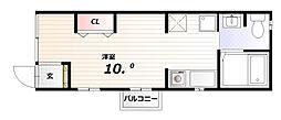 アネックス[1階]の間取り
