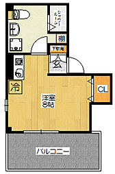 Casa Pico[4階]の間取り