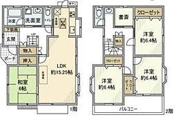 東武東上線 若葉駅 徒歩28分