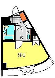 パレ・ドール鶴ヶ峰[209号室]の間取り