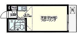 オリエンタル宮崎台[1階]の間取り