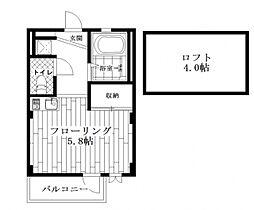 アルベリーノ東高円寺[1階]の間取り
