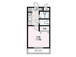 埼玉県和光市中央2丁目の賃貸マンションの間取り