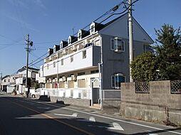 愛知県岡崎市井内町字風見の賃貸アパートの外観