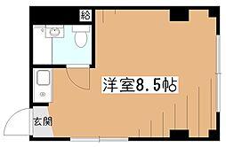 ウエスト久米川ビル[3階]の間取り