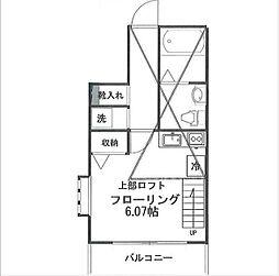 カスティーロ小金井本町[112号室]の間取り