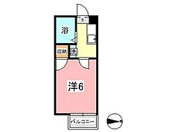 ゆめエリア II[102号室]の間取り