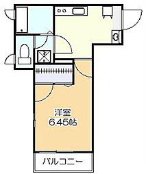 ウィルズ・コート[3階]の間取り