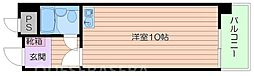 阪急京都本線 相川駅 徒歩15分の賃貸マンション 4階ワンルームの間取り