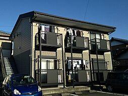 静岡県焼津市小土の賃貸アパートの外観