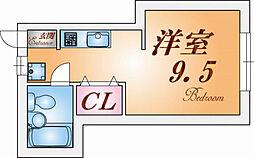 妙法寺ハイツ[1階]の間取り