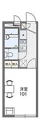 三ッ沢アーバニティー[2階]の間取り