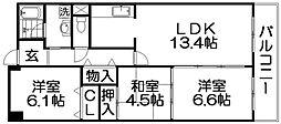 maisonS&T[1階]の間取り