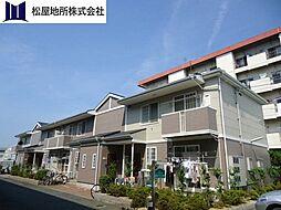 愛知県豊橋市神野新田町字タノ割の賃貸アパートの外観