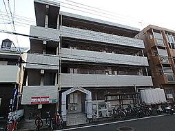 福岡県福岡市東区箱崎4丁目の賃貸マンションの外観
