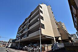 大阪府松原市高見の里4丁目の賃貸マンションの外観