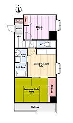 プラムハウス[3階]の間取り