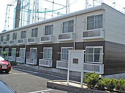愛知県みよし市三好町木之本の賃貸アパートの外観