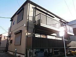 神奈川県横浜市保土ケ谷区帷子町2丁目の賃貸アパートの外観