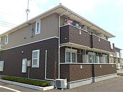 栃木県宇都宮市ゆいの杜4の賃貸アパートの外観