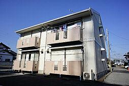栃木県宇都宮市滝の原1丁目の賃貸アパートの外観