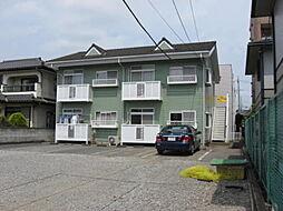 栃木県下野市祇園1丁目の賃貸アパートの外観