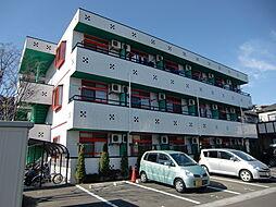 埼玉県川口市鳩ヶ谷緑町2の賃貸マンションの外観