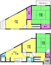 [一戸建] 兵庫県加古郡播磨町古田3丁目 の賃貸【/】の間取り